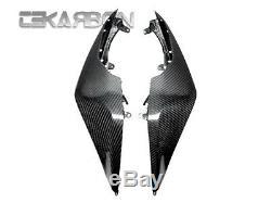 2008 2010 Kawasaki ZX10R Carbon Fiber Tail Side Fairings 2x2 twill weaves