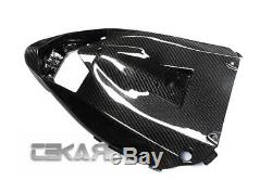 2008 2010 Kawasaki ZX10R Carbon Fiber Under Tail Fairing 2x2 twill weaves