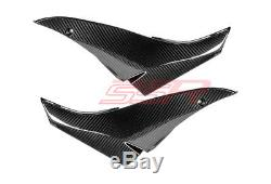 2008-2010 Kawasaki ZX10R Twill Carbon Fiber Tank Seat Side Panel Cover Fairings