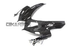 2008 2010 Suzuki GSXR 600 / 750 Carbon Fiber Front Fairing 2x2 twill weaves