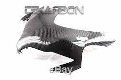 2008 2011 Honda CBR1000RR Carbon Fiber Front Fairing 2x2 twill weaves