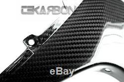 2008 2011 Honda CBR1000RR Carbon Fiber Front Side Fairings 2x2 twill