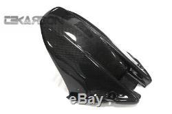 2008 2011 Honda CBR1000RR Carbon Fiber Mud Guard Rear Hugger Long 2x2 twill