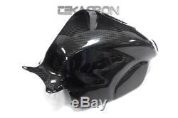 2008 2011 Honda CBR1000RR Carbon Fiber Tank Cover 2x2 twill weaves