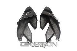 2008 2012 Ducati Hypermotard 796 1100 Carbon Fiber Large Side Fairings Twill