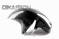 2008 2013 Suzuki GSX1300R Hayabusa Carbon Fiber Front Fender 2x2 Twill