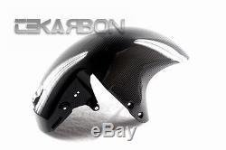 2008 2013 Suzuki GSX1300R Hayabusa Carbon Fiber Front Fender 2x2 twill weave