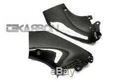 2008 2013 Suzuki GSX1300R Hayabusa Carbon Fiber Side Tank Panels 2x2 twill