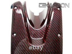 2008 2014 Ducati Monster 696 1100 796 Carbon Fiber Top Tank Cover Red Twill