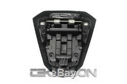 2008 2014 Yamaha YZF R6 Carbon Fiber Cowl Seat 2x2 twill weave