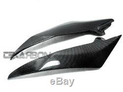 2008 2014 Yamaha YZF R6 Carbon Fiber Side Tank Panels 2x2 twill weaves