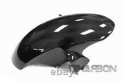 2008 2016 Yamaha YZF R6 Carbon Fiber Front Fender Mudguard 2x2 twill weaves