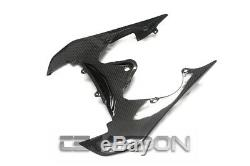 2008 2016 Yamaha YZF R6 Carbon Fiber Mid Tail Fairing 2x2 twill weaves