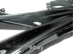 2008 2016 Yamaha YZF R6 Carbon Fiber Upper Side Fairings