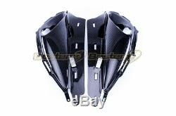 2008-2017 Hayabusa Carbon Fiber Air Intake Nose Fairing GSX1300R Twill Weave