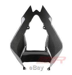 2009-2011 BMW S1000RR Upper Rear Seat Top Tail Fairing 100% Twill Carbon Fiber