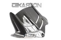 2009 2012 Kawasaki ZX6R Carbon Fiber Rear Hugger Fender 2x2 twill weaves