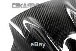 2009 2014 Aprilia RSV4 Carbon Fiber Front Tank Cover 2x2 twill weaves