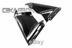 2009 2014 Aprilia RSV4 Carbon Fiber Side Fairing Panels 2x2 twill weaves