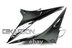 2009 2014 Aprilia RSV4 Carbon Fiber Side Tank Panels 2x2 twill weaves