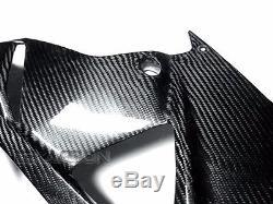 2009 2014 BMW S1000RR / HP4 Carbon Fiber Lower Side Fairings 2x2 twill weave