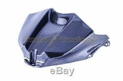 2009-2014 Yamaha R1 Carbon Fiber Gas Tank Cover Panel Twill Weave Pattern