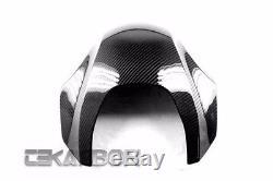 2009 2015 Aprilia Mana 850 Carbon Fiber Tank Cover 2x2 twill weaves