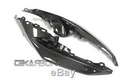 2009 2015 Suzuki GSXR 1000 Carbon Fiber Front Side Panels Fairings 2x2 twill