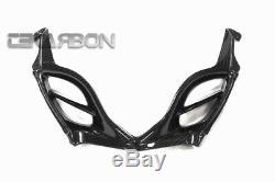 2009 2015 Suzuki GSXR 1000 Carbon Fiber Nose Fairing 2x2 twill weave