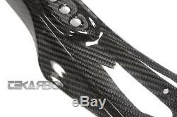 2009 2015 Suzuki GSXR 1000 Carbon Fiber Upper Fairing 2x2 twill