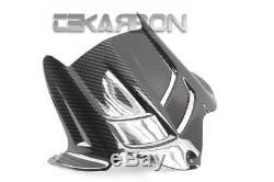 2009 2016 Kawasaki ZX6R Carbon Fiber Rear Hugger 2x2 twill weaves