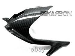 2009 2017 BMW S1000RR / HP4 Carbon Fiber Rear Hugger with Chain 2x2 Twill