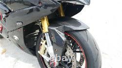 2009-2018 Prepreg Carbon Fiber Front Fender Mud Flap Guard TWILL for BMW S1000RR