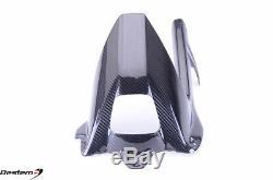 2009-2018 S1000RR 100% Carbon Fiber Rear Hugger Mudguard Chain Guard Twill 2016