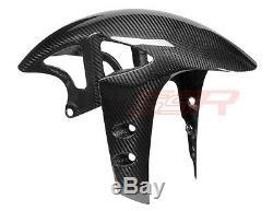 2009-2020 Yamaha R1 R1S MT10 FZ10 Front Fender Tire Mudguard Twill Carbon Fiber