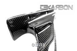 2010 2013 MV Agusta F4 Carbon Fiber Air Intake Covers 2x2 twill weave