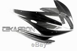 2010 2013 MV Agusta F4 Carbon Fiber Front Fairing 2x2 twill weave