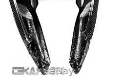 2010 2013 MV Agusta F4 Carbon Fiber Tail Side Fairings 2x2 twill weave