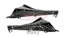 (2010-2014) BMW S1000RR HP4 Side Panel Fairing Cover Carbon Fiber Fibre Twill