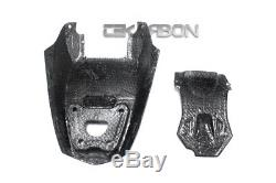 2010 2014 Ducati Streetfighter / 848 Carbon Fiber Under Tail Fairings twill