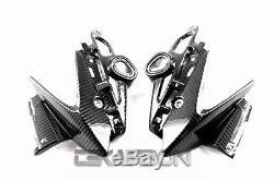 2011 2012 2013 Yamaha FZ8 Carbon Fiber Headlight Side Fairings 2x2 twill weave