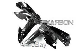 2011 2014 Suzuki GSR 750 Carbon Fiber Front Side Fairings 2x2 twill weave