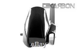 2011 2014 Suzuki GSR 750 Carbon Fiber Rear Hugger 2x2 twill weave