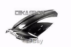 2011 2014 Triumph Speed Triple 1050 Carbon Fiber Rear Hugger 2x2 twill