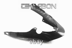 2011 2014 Triumph Speed Triple Carbon Fiber Tail Fairing 2x2 twill