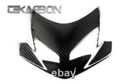 2011 2014 Triumph Speed Triple Carbon Fiber Windscreen 2x2 twill weave