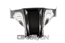 2011 2015 Kawasaki ZX10R Carbon Fiber Front Tank Cover 2x2 twill weave