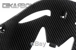 2011 2015 Kawasaki ZX10R Carbon Fiber Front Under Panel 2x2 twill weave