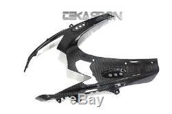 2011 2015 Suzuki GSXR 600 750 Carbon Fiber Front Fairing 2x2 twill weave