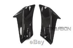 2011 2015 Suzuki GSXR 600 750 Carbon Fiber Side Fairing Panels 2x2 twill